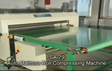Auto Mattress Roll Compressing Machine