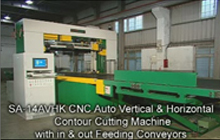 CNC Vertical & Horizontal Contour Cutting Machine
