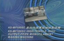 P.E & P.P. Monofilament Making Machine-