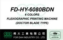 6 Colors Flexographic Printing Machine (Doctor Blade Type)